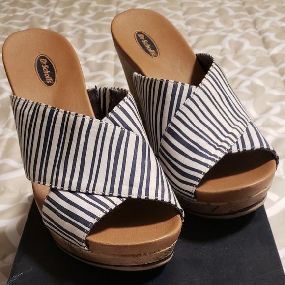 aeb93b3968 Dr. Scholl's Shoes | Comfy Cute Wedge Sandal | Poshmark